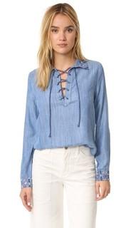 Рубашка Pandora на шнуровке Rahi Cali