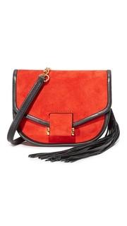Замшевая сумка через плечо Edition10