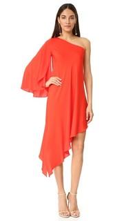 Платье Tori с открытым плечом Milly