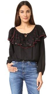 Блуза с оборками Piper
