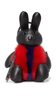 Сумка через плечо с изображением кролика MCM