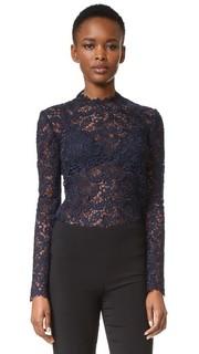 Блуза с длинными рукавами Monique Lhuillier
