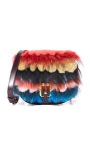 Миниатюрная сумка через плечо Babeth Paula Cademartori