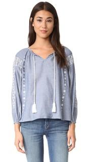 Блуза с вышивкой Maxima Roberta Roller Rabbit