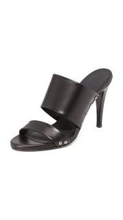 Сандалии на каблуках с заклепками Jenni Kayne