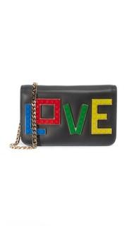 Миниатюрная сумка Janis Rainbow Love les Petits Joueurs
