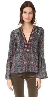 Блуза Persian с принтом Nanette Lepore