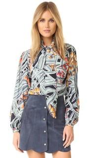 Блуза в деревенском стиле Mara Hoffman