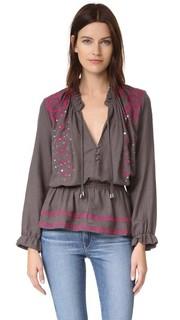 Блуза с вышивкой Piper