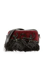 Маленькая бархатная сумка для фотоаппарата Snapshot Marc Jacobs