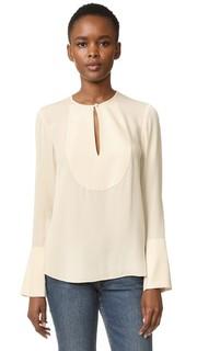Блуза с расклешенными рукавами Bahliee Theory