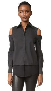 Блуза с открытыми плечами Kaufmanfranco