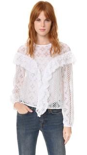 Кружевная блуза Mikayla Rodebjer