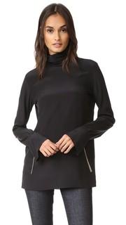 Шелковая блуза Nina Ricci