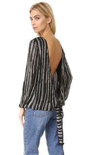 Блуза Evvy с декоративной отделкой Diane von Furstenberg