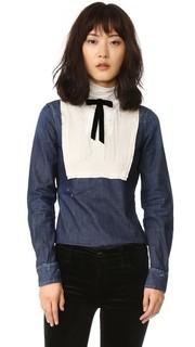 Рубашка в викторианском стиле Dsquared2