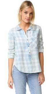 Рубашка с бахромой на воротнике Bella Dahl
