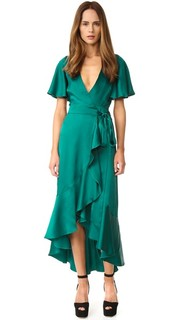 Платье-халат Parrot Temperley London