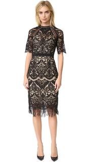 Платье Odette с бахромой Saylor