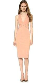 Платье Symmetry с поясом Dion Lee