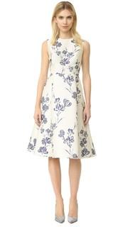 Платье-трапеция Lela Rose