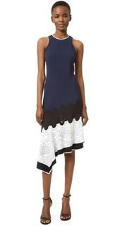 Асимметричное платье Constellation Jonathan Simkhai