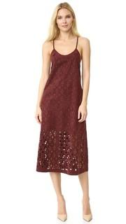 Платье-комбинация Aleyda с вырезами Tibi