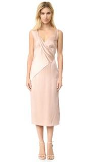 Коктейльное платье с V-образным вырезом Jason Wu