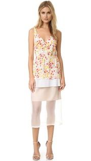 Многослойное плиссированное платье Odelia Mother of Pearl