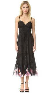 Платье Freya со съемной комбинацией Preen By Thornton Bregazzi