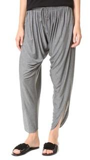 Драпированные гаремные брюки из джерси Haute Hippie