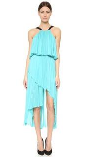 Вечернее платье с американской проймой J. Mendel