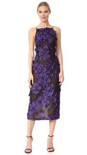 Платье Fil Coupe без рукавов с цветочным рисунком Jason Wu