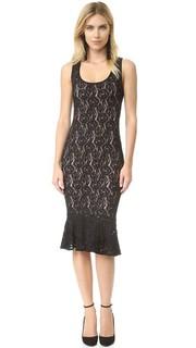 Кружевное платье без рукавов Fuzzi