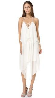 Платье с двухуровневыми бретельками Haute Hippie