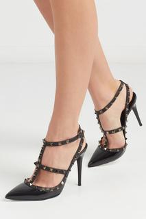 Туфли из лакированной кожи Rockstud Valentino