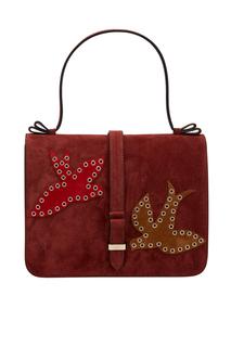 Замшевая сумка Red Valentino