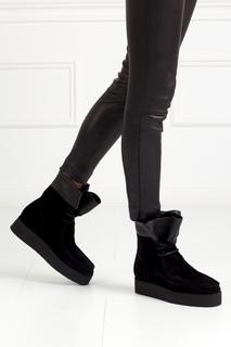 Замшевые ботинки Alexander Wang