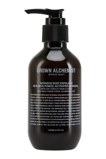 Интенсивный эксфолиант для тела «Инка инчи, пемза и активированный уголь» 200ml Grown Alchemist