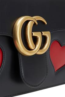 Кожаная сумка GG Marmont Gucci