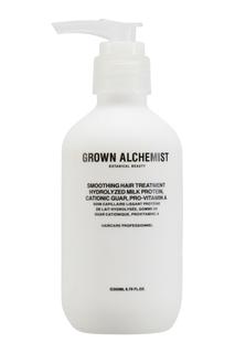 Разглаживающий крем для волос Smoothing Hair Treatment 200ml Grown Alchemist