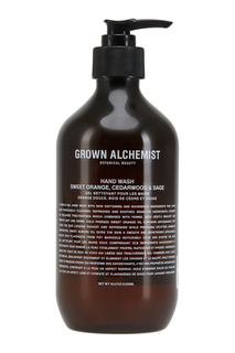Жидкое мыло для рук «Апельсин, кедр и шалфей» 500ml Grown Alchemist