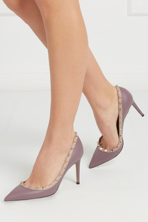 Кожаные туфли Rockstud Valentino