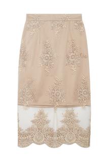 Юбка с кружевом T Skirt