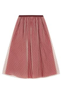 Двухслойная юбка Red Valentino