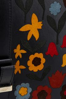Кожаная сумка Red Valentino