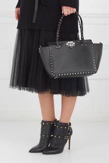 Кожаная сумка Rockstud Valentino