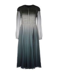 Платье длиной 3/4 Burberry Prorsum