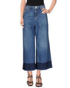 Джинсовые брюки-капри Jucca