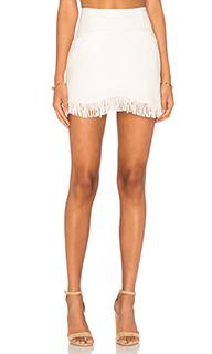 Короткая юбка с бахромой - Lucca Couture